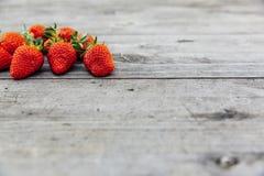 Fresh bio strawberry Royalty Free Stock Images