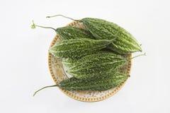 Fresh Bitter Gourd or Karela Stock Image