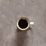 Fresh black coffee Royalty Free Stock Images