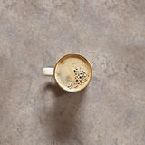 Fresh black coffee Stock Image