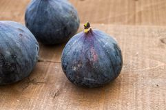 Fresh black figs age paintings, fresh fig fruit in dish, Royalty Free Stock Photos