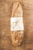 Fresh black long loaf Stock Image