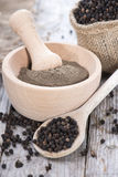 Fresh Black Pepper Stock Photos