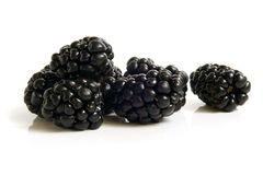 Fresh blackberries Royalty Free Stock Photography