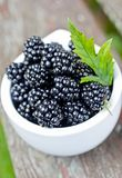 Fresh blackberry. Fresh fruits, healthy food Royalty Free Stock Images