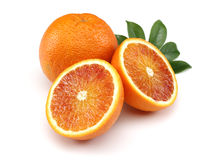 Fresh Blood Orange Stock Image
