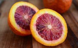 Fresh blood orange Stock Photography