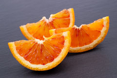 Fresh blood oranges Stock Photos