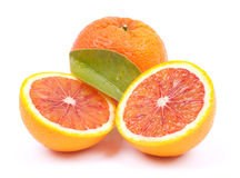Fresh blood oranges Royalty Free Stock Image