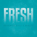 Fresh blue  design background Royalty Free Stock Photography