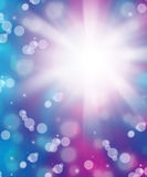 Fresh blue purple abstract background Stock Photography