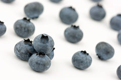 Fresh blueberries. Blueberries isolated on white background Royalty Free Stock Photo