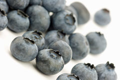 Fresh blueberries. Blueberries isolated on white background Royalty Free Stock Photography