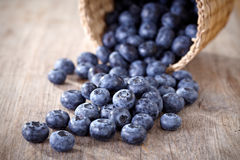 Fresh blueberries Royalty Free Stock Photos