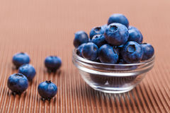 Fresh blueberries in bowl Stock Photos
