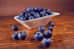 Blueberries natural antioxidant Royalty Free Stock Photography