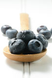 Fresh Blueberries Close Up Stock Image