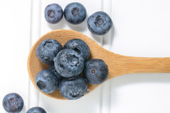 Fresh Blueberries Close Up Stock Photo