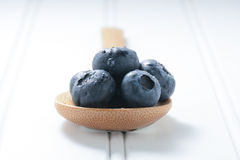 Fresh Blueberries Close Up Royalty Free Stock Images