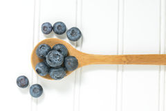 Fresh Blueberries Close Up Royalty Free Stock Photography