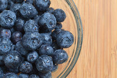 Blueberry Bowl Stock Images