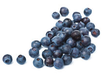 Fresh blueberries isolated Royalty Free Stock Photography