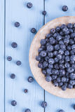 Fresh  blueberries Royalty Free Stock Photos