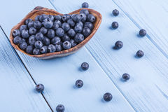 Fresh  blueberries Stock Photo
