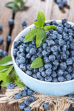 Fresh Blueberries. Portion of fresh harvested Blueberries (detailed close-up shot Royalty Free Stock Images