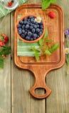 Fresh blueberries Stock Photo