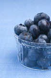 Fresh blueberry. In a glass cup Royalty Free Stock Photo