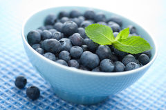Fresh blueberry in bowl Stock Photo