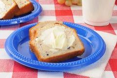 Fresh blueberry bread Royalty Free Stock Photo
