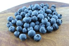Fresh Blueberry Dream. Large blueberries ready to eat or bake a cake or a dessert Stock Photo