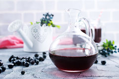 Blueberry drink Royalty Free Stock Photos