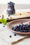 Fresh blueberry fruits Royalty Free Stock Image