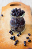 Fresh blueberry fruits Royalty Free Stock Photo