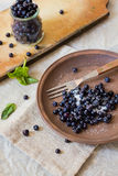Fresh blueberry fruits Stock Photos