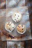 Fresh blueberry muffins Stock Photo