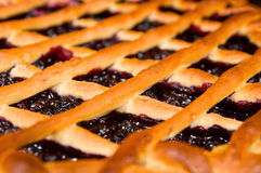 Fresh blueberry pie Royalty Free Stock Images