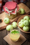 Fresh boiled compote. Royalty Free Stock Images