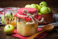 Fresh boiled compote. Royalty Free Stock Image