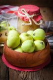 Fresh boiled compote. Stock Images