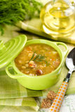 Pea soup Royalty Free Stock Photos