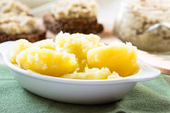 Fresh boiled potatoes Stock Photo