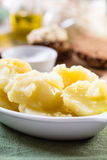 Fresh boiled potatoes Royalty Free Stock Photography