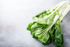 Fresh bok choy, chinese cabbage royalty free stock images