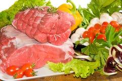 Fresh boneless Roast-beef stock photography