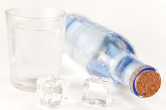 Fresh bottle of water Royalty Free Stock Images