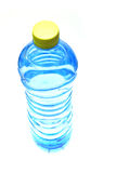 Fresh bottle of water. Fresh blue bottle of water isolated Stock Photo
